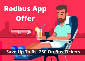 Redbus App Offer: Save Up To Rs. 250 On Bus Tickets