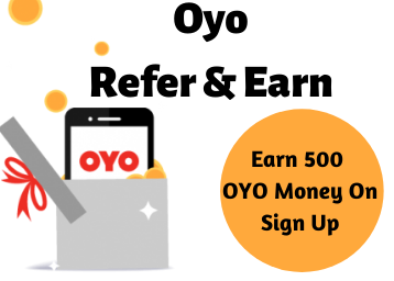 OYO Referral Code: Earn 500 Oyo Money On Sign Up