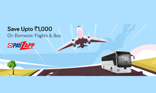 Yatra PayZapp Offer: Save Up to Rs. 1,000 On Domestic Flight & Bus