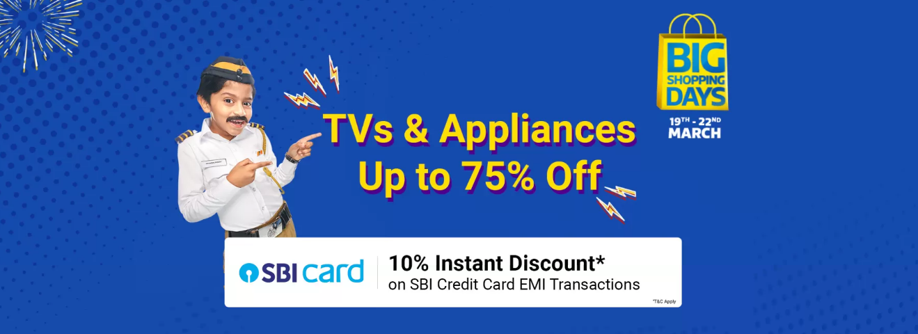 Top 10 TVs & Appliances Deals on Big Shopping Days