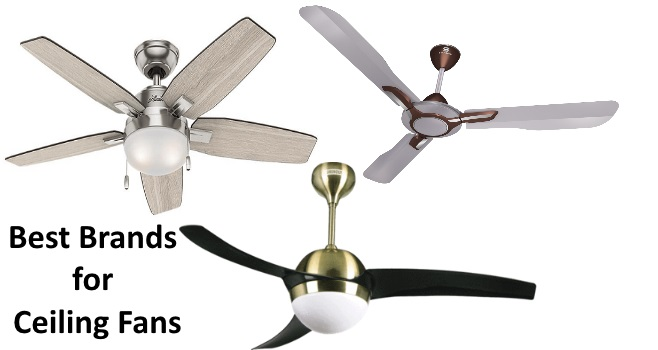 Ceiling fan is one such essential appliance for summer. Today, we bring the best brand for ceiling fans.
