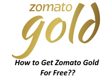 Get Zomato Gold Membership free three month plan worth Rs. 750 for free.