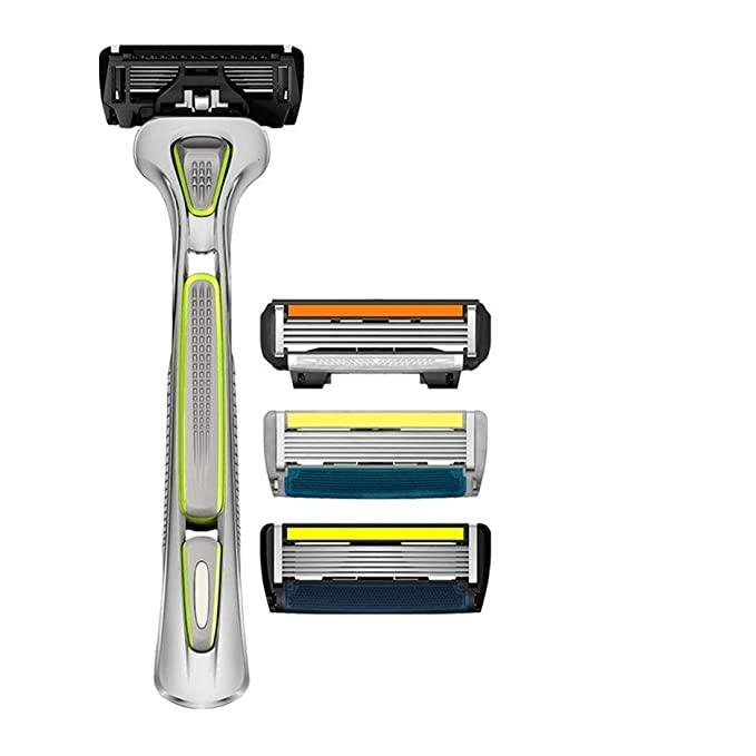 LetsShave Pro 6 Sensitive Manual Shaving Razor