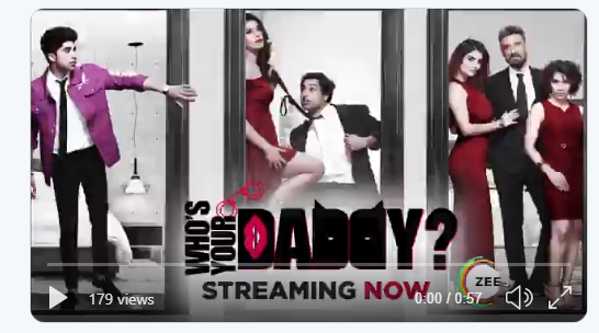 Watch who's daddy web series for free on Zee5. The latest Zee5 original series.