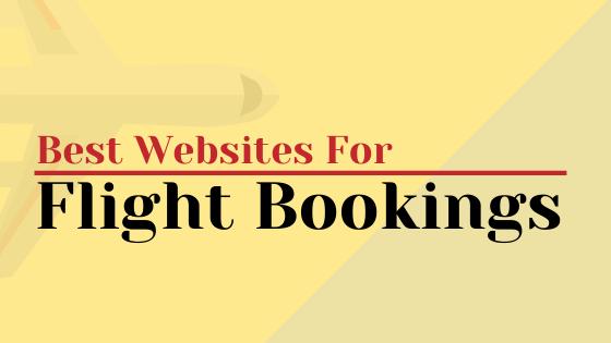 Best Flight Booking Sites in India