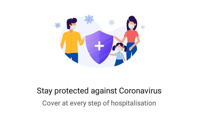 phonepe coronavirus policy introduced. Get corona policy at Rs. 156 on phonepe