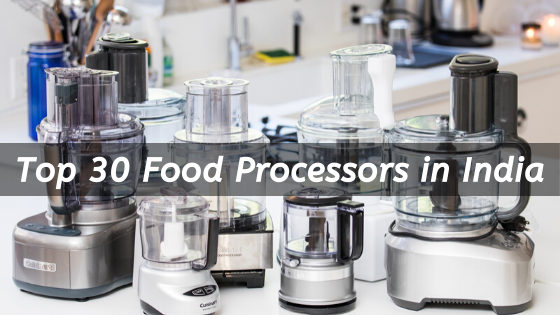 top food processors in india