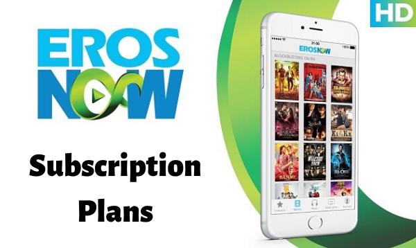 Eros Now Subscription Plans: Get 2 Months Subscription Free