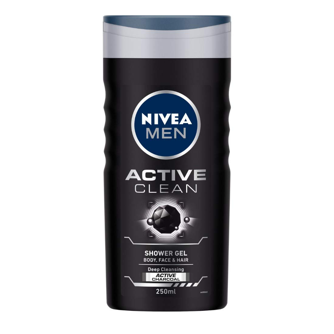 NIVEA MEN Shower Gel, Active Clean Body Wash