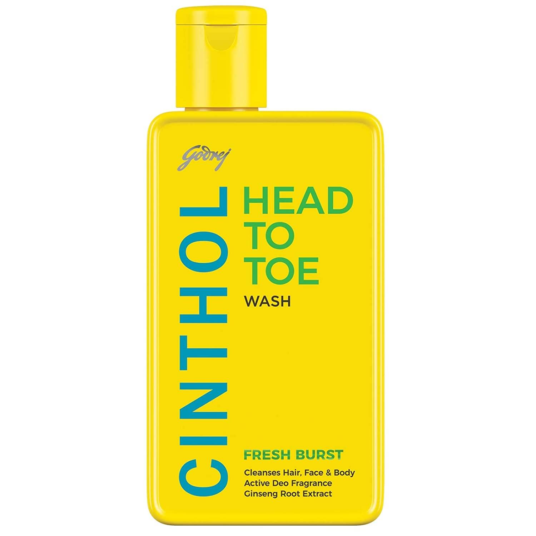Cinthol Head to Toe, 3-in-1 Wash