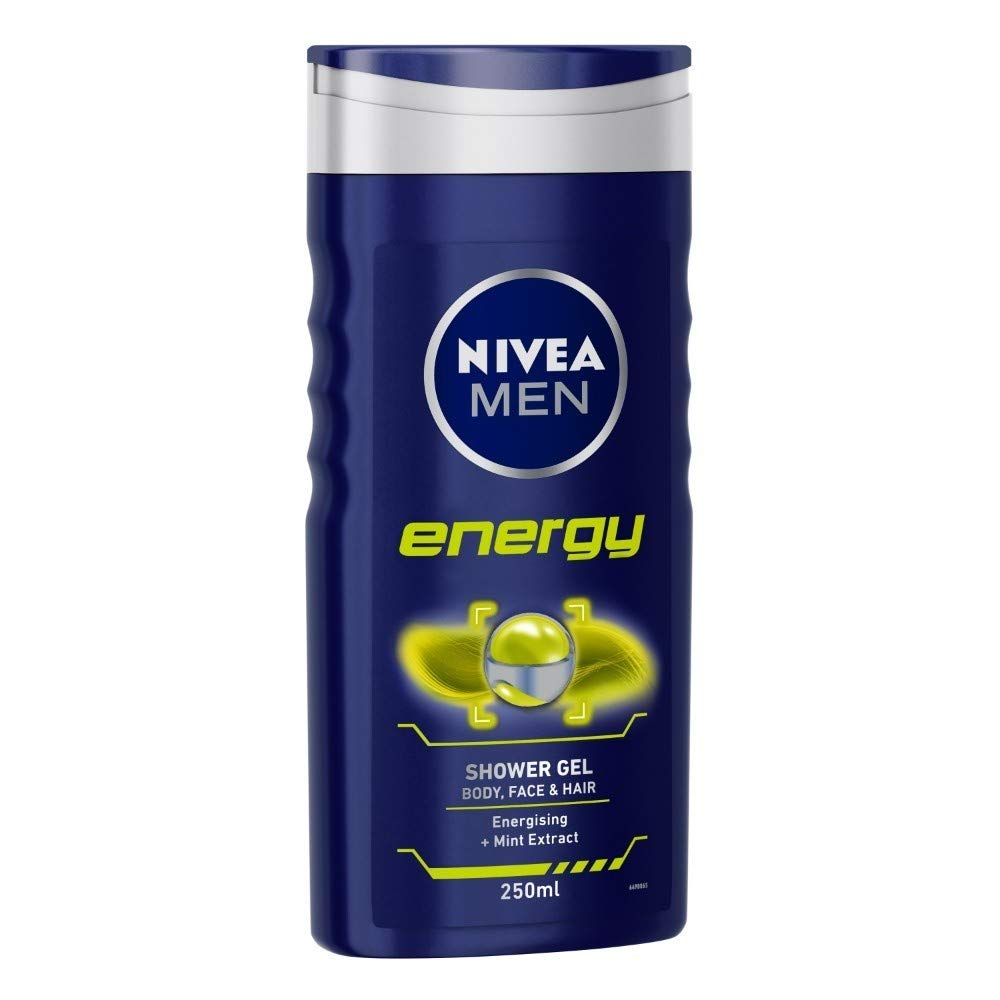 NIVEA MEN Energy Shower Gel