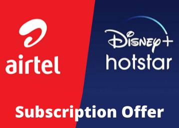 airtel-disney+ hotstar offer