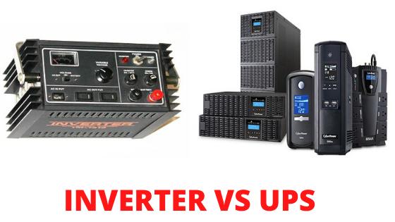 Inverter VsUPS