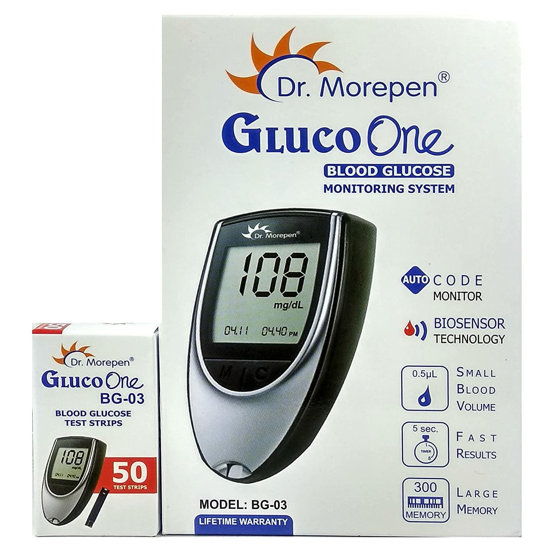 Dr. Morepen BG-03 Gluco One Glucometer