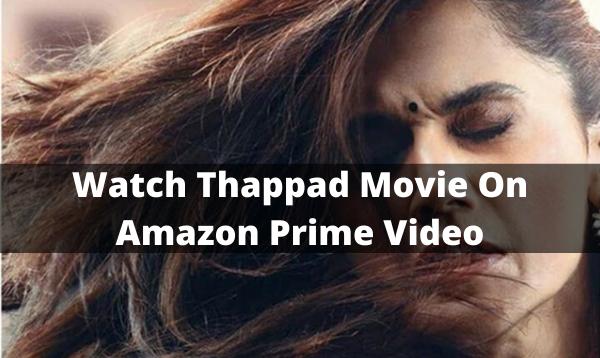 thappad movie online free