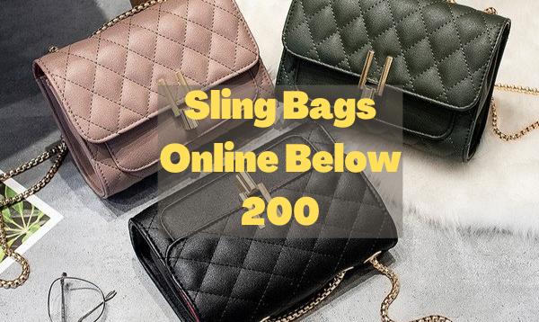 8 Best Sling Bags Online Below 200