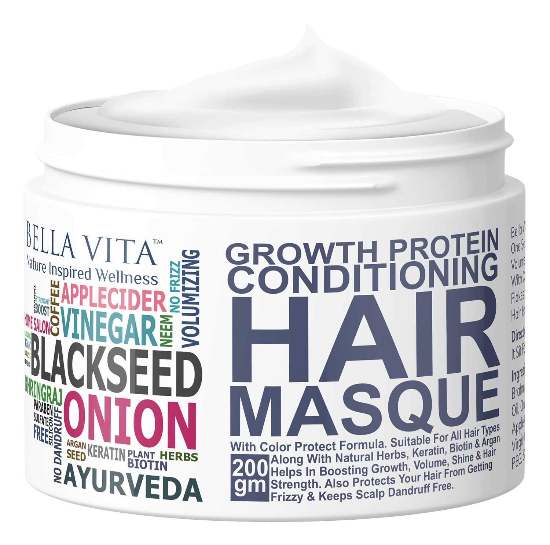 Bella Vita Organic Keratin Hair Mask Spa Cream
