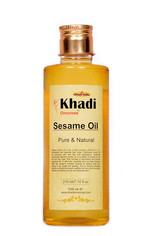 khadi sesame carrier oil