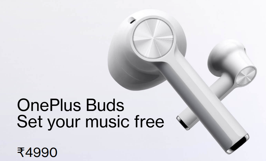 OnePlus Buds Sale - Today at 12 PM