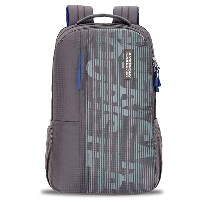 American Tourister Gusto Nxt 25 Ltrs Grey Laptop Backpack