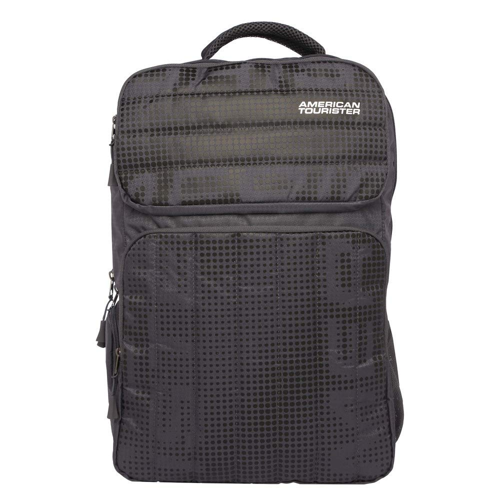 American Tourister Insta NXT 01 Grey Laptop Backpack