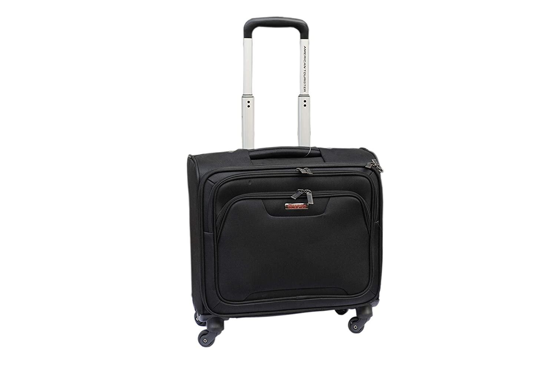 American Tourister Unisex Zipper Closure Soft Trolley
