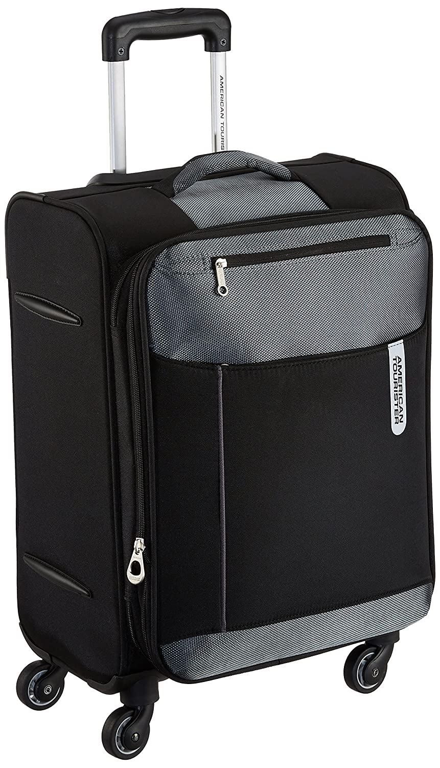 American Tourister Portugal Polyester 57 cms Black Soft Sided Carry-On