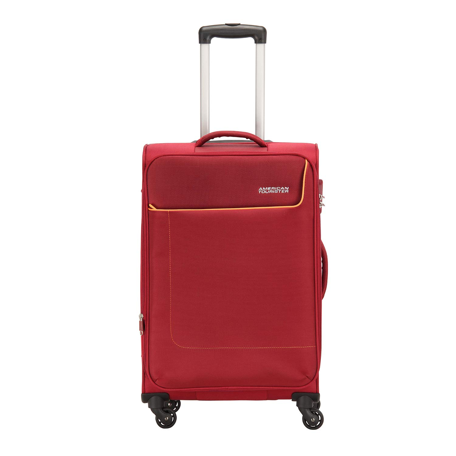 American Tourister Jamaica Polyester 80 cms Wine Red Softsided Suitcase