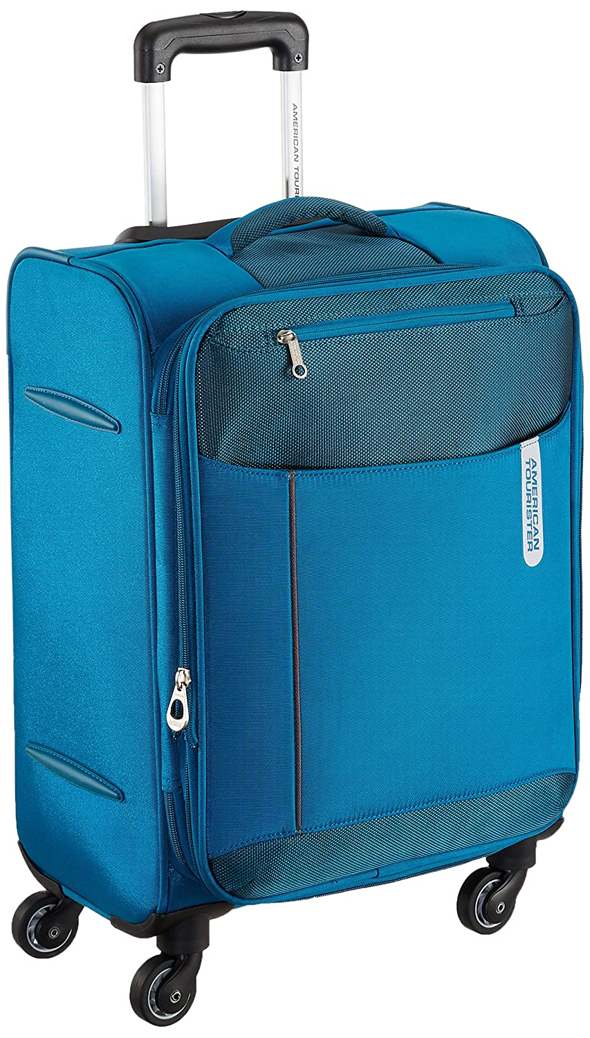 American Tourister Portugal Polyester 57 cms Teal Soft Sided Carry-On
