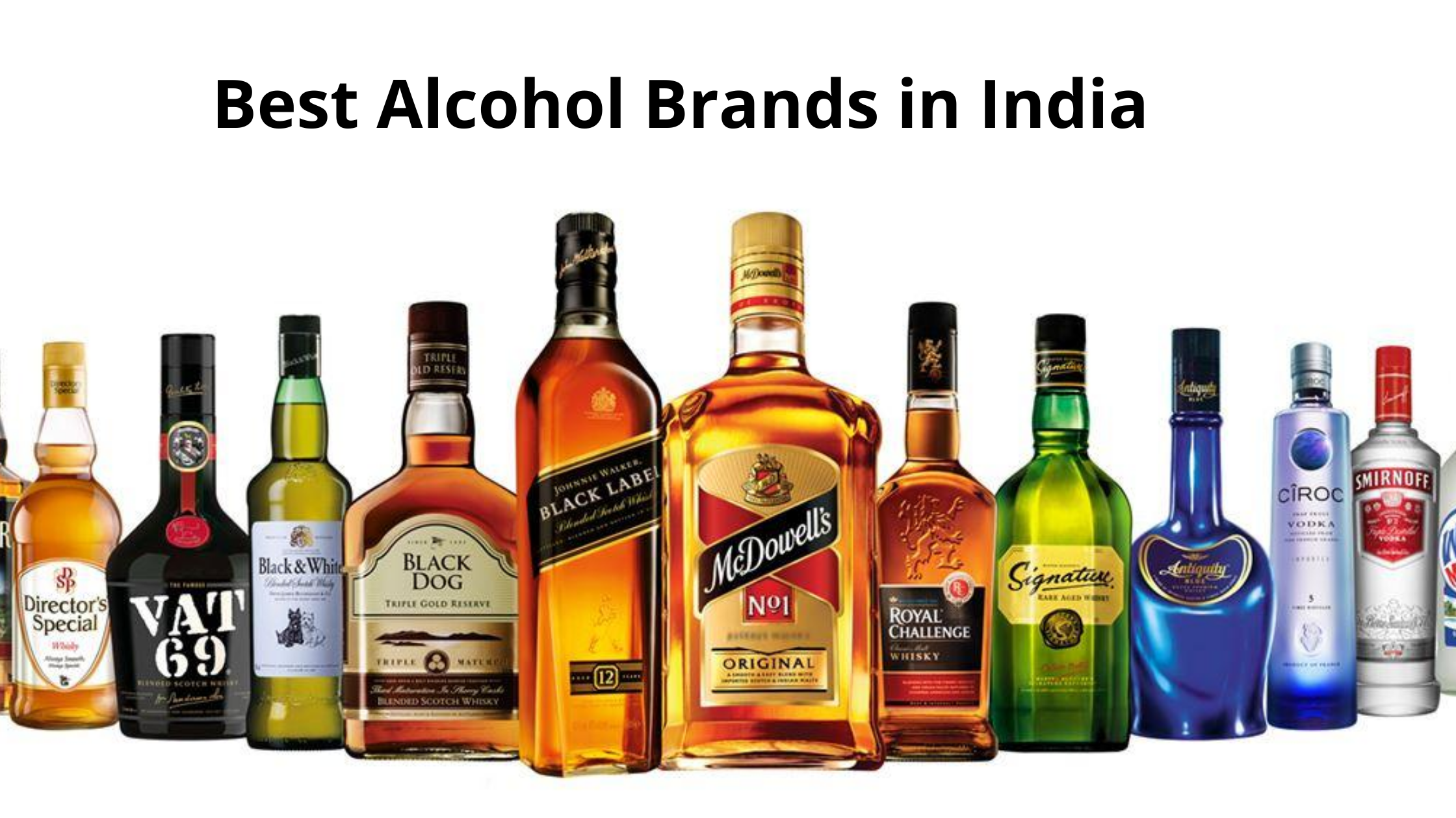 Best Alcohol Brands in India 2020 with Price