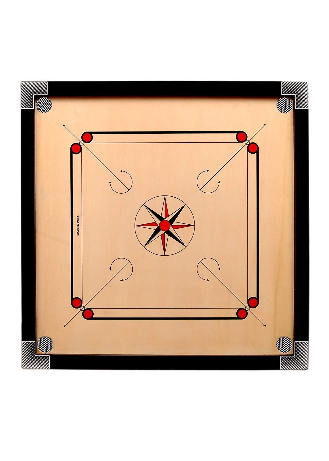 Anand Full Size Matte Finish Carrom Board