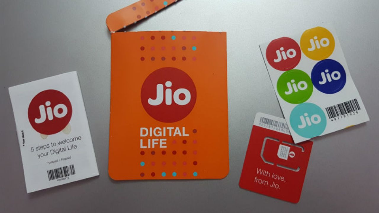 Jio SIM Activation