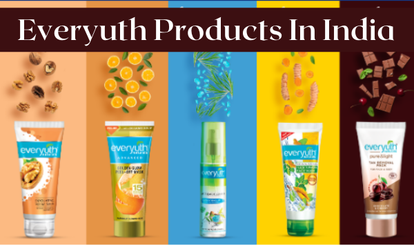 Everyuth Product Price List: Scrub, Cream, and more