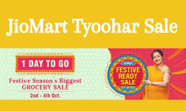Jio Mart Festive Ready Sale: Get Ready For Exciting Discounts and Offers
