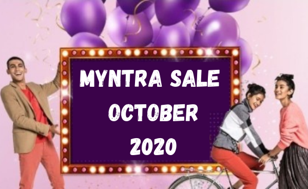 Top Offers On Myntra October Sale 2020: Up to 80% Off + Bank Offers