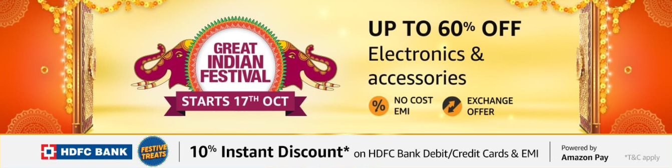 Amazon Great Indian Sale on Electronics 2020