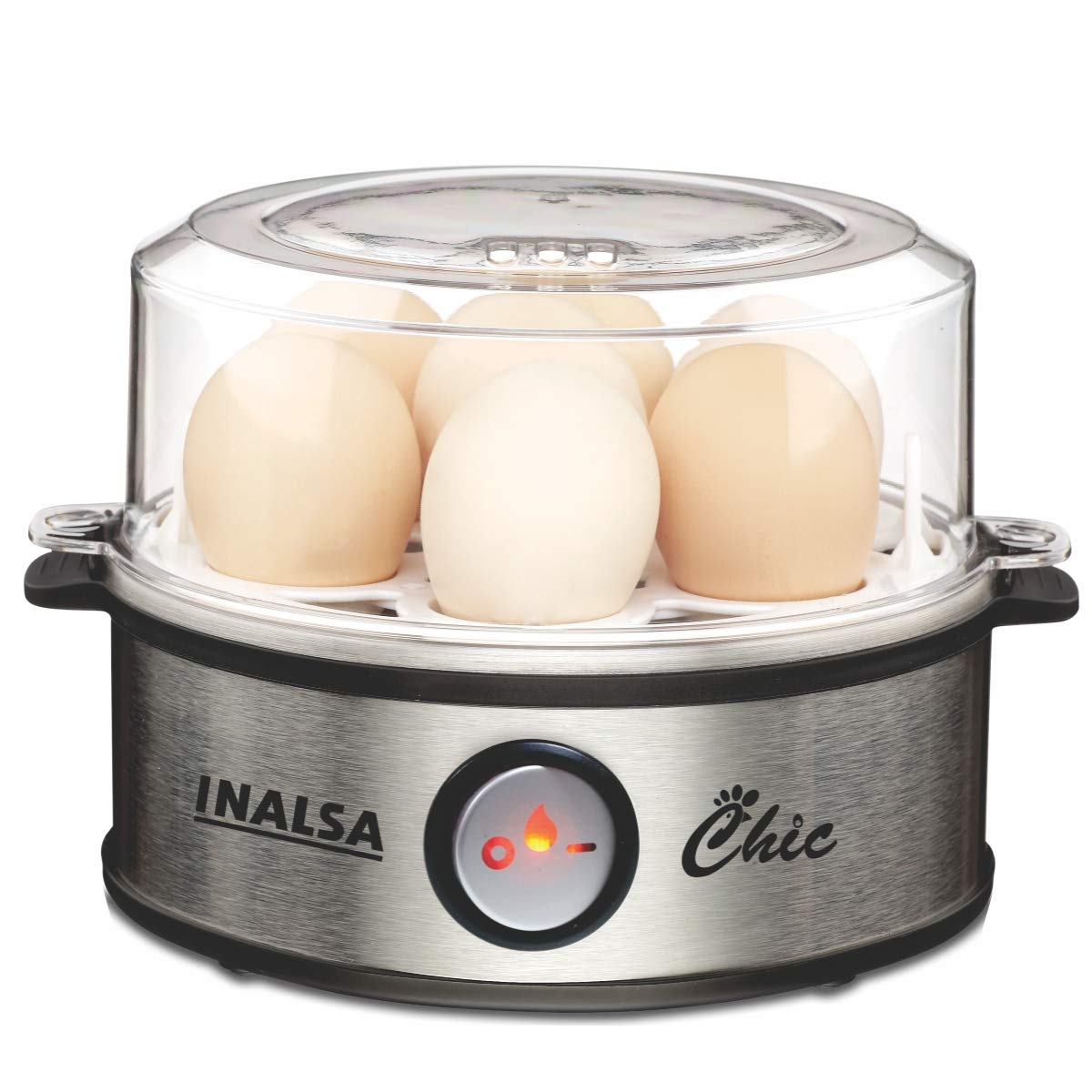 Inalsa Chic Instant Egg Boiler, 350 Watts