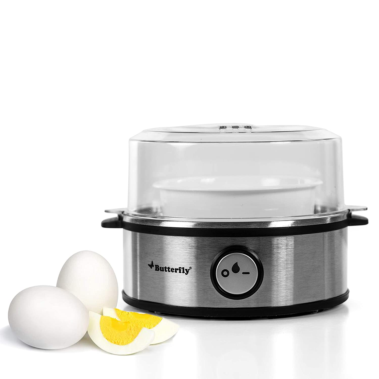 Butterfly Electric Egg Boiler Stainless steel