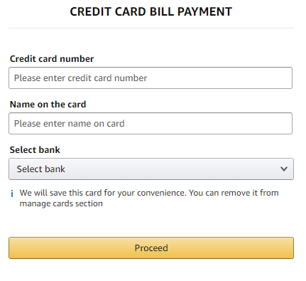 amazon credit card offer