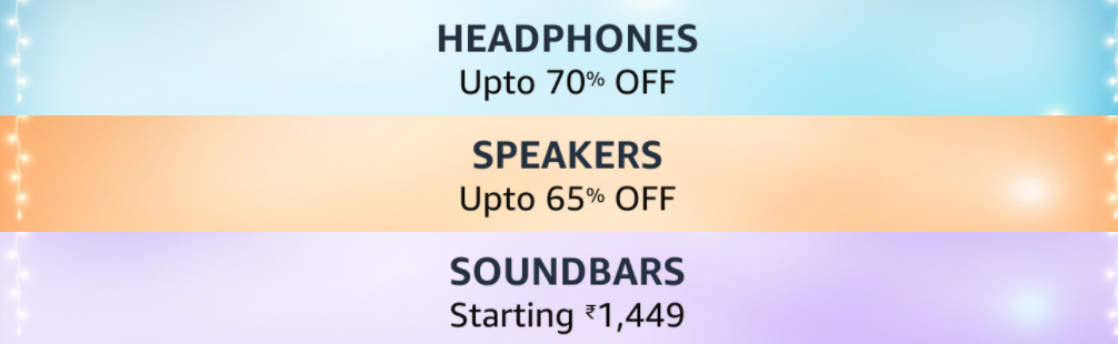Amazon Great Indian Festival Sale on Headphones
