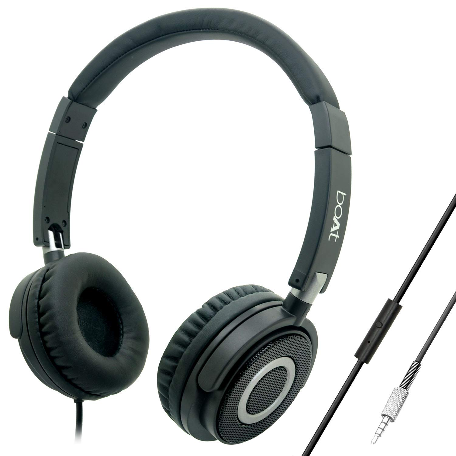 boAt Bassheads 900 On Ear Wired Headphones
