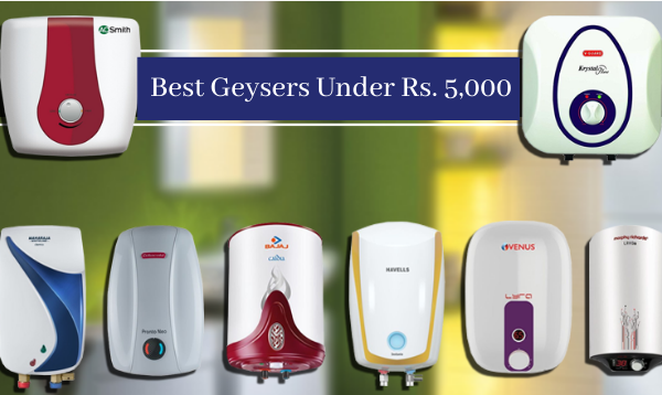 Top Geysers Under Rs. 5000 In Amazon Great Indian Sale 2020