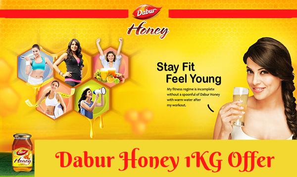Dabur Honey 1kg Offer: Get Pack Of 4 At Rs. 94 Each