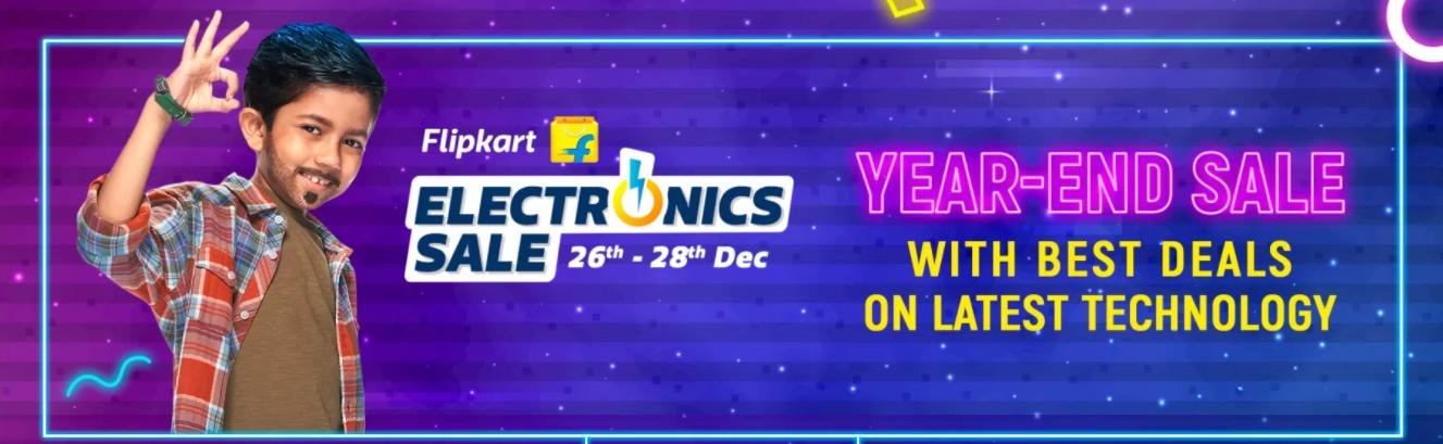 Flipkart Year End Sale 2020: Get 50%-80% Off [26th-28th Dec]