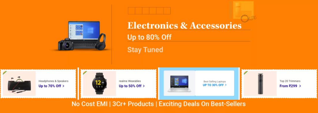 Flipkart Republic Day Sale On Electronics