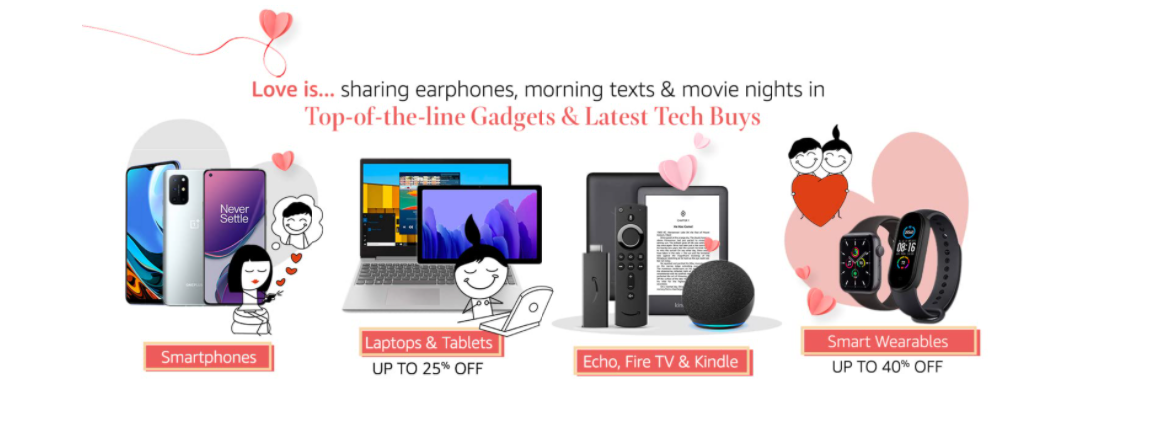 Best Offers of Amazon Valentine's Day Sale
