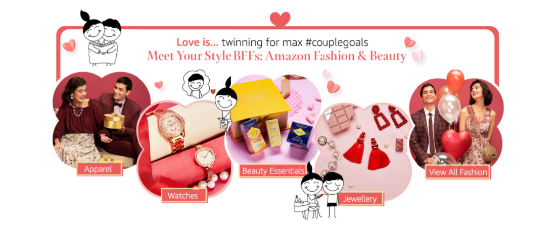 Amazon Valentine's Day Gifts offers For Her