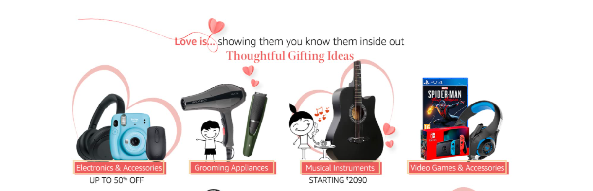 Unique Gifts For Him on Amazon