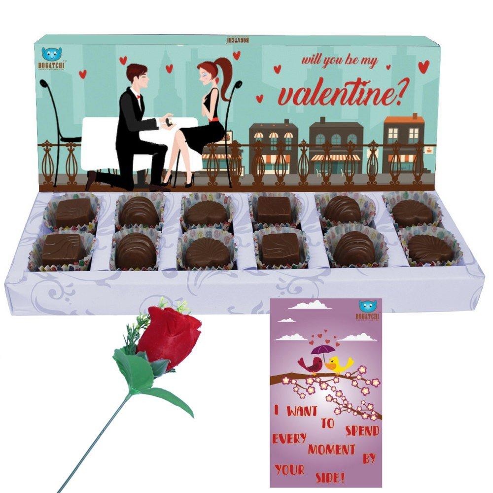 Valentine Special Dark Chocolate Box
