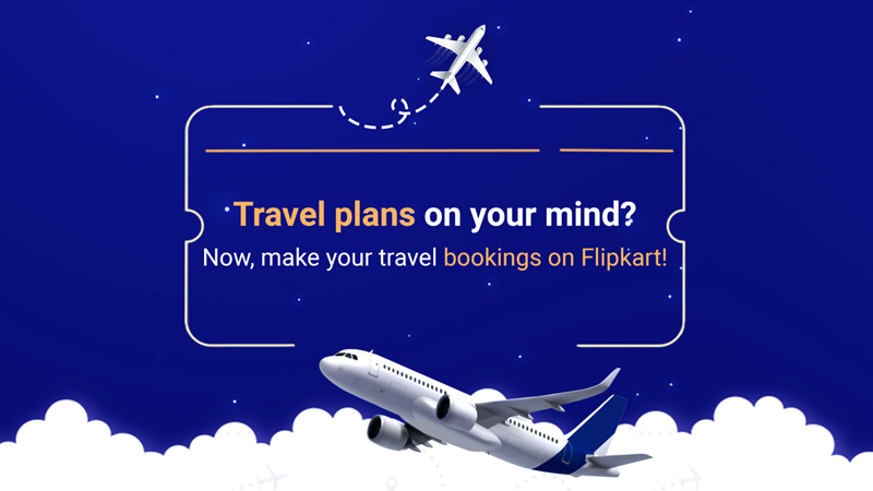Flipkart Flight Booking Offer - Upto Rs. 25,000 Off on Flight Booking
